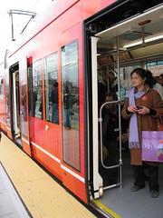 Orange Car, Streetcar Inaugural
