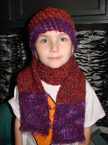 My first hat & scarf