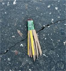 Last Writes (Lara's  Stuff) Tags: road pencil squished ihavenoexcuseformyselfonwhyitookthispicture lastwrites pleasenomoreflickrmailsthatitsriteswriteswasjustforthepunofit