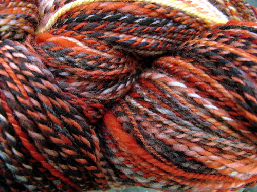Heat Wave - handspun yarn
