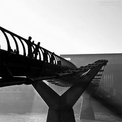 Dark Light (Sean Bolton (no longer active)) Tags: shadow england mist london millenniumbridge darklight seanbolton ffotocymrucouk