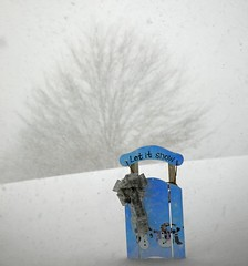 let it snow (dukematthew2000) Tags: blue white snow ny storm home snowman country bow allegany ih aplusphoto diamondclassphotographer