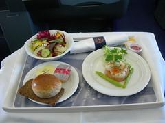 Appetizer - Lufthansa LH715 NRT-MUC