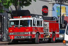 SDFD Pumper (So Cal Metro) Tags: fire sandiego firetruck gaslamp pierce fireengine sdfd pumper gaslampquarter sandiegofire