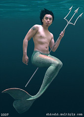 merman (chrisgool) Tags: merman trident merfolk shizahi
