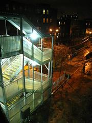 Fenway Stop (historygradguy (jobhunting)) Tags: light boston night stairs ma publictransit publictransportation massachusetts newengland winner mbta masstransit fenway thumbsup mass thumbsupwinner
