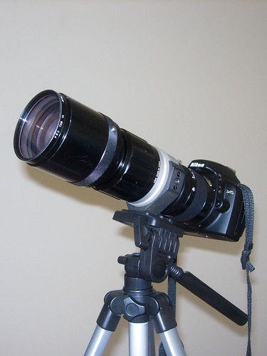 300mm f/4.5 Nikkor-H with TC-200