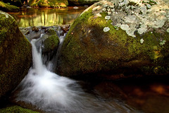 peacefull (Websphotos) Tags: longexposure reflection water waterfall moss shenandoah oldragmountain oldrag naturesfinest appalachain