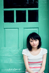 Yuchan (AehoHikaruki) Tags: portrait people girl beautiful asian nice interesting asia photos sweet album great chinese taiwan olympus taipei lovely  e1     yuchan  435 aehohikaruki