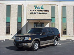 Armored Bulletproof 2008 Ford Expedition!