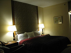 Hotel Room (blind_donkey) Tags: hotel design israel bed interior lamps haifa interiordesign dankarmel