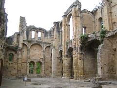 Alet Les Bains: abbey ruins