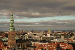Copenhagen (harri.honkanen) Tags: christiansborg københavn copenhagen kööpenhamina denmark view topview tower skyline buildings city old oldie