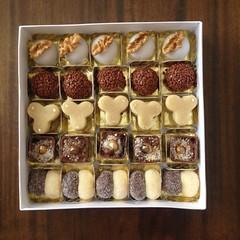 caixa de doces @veravilleladoces (VERA VILLELA DOCES) Tags: caixasdedoces presentes veravilleladoces brigadeiros nutella marzipan camafeu