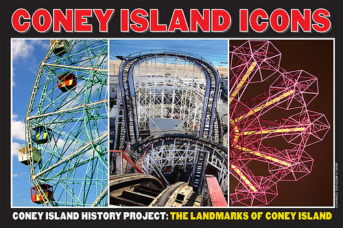 2009 Exhibition Coney Island Icons by Coney Island History Project
