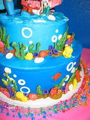 IMG_2065 (TKcakes) Tags: ariel cake mermaid