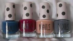 topshop nail varnishes 2