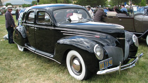 1939 Lincoln Zephyr fastback 4-door sedan | Cars of the 1930s ...