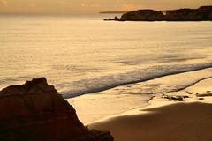 Glowing sea (LusoFox) Tags: portugal algarve portimo praiadarocha canonefs1755mmf28isusm canoneos7d
