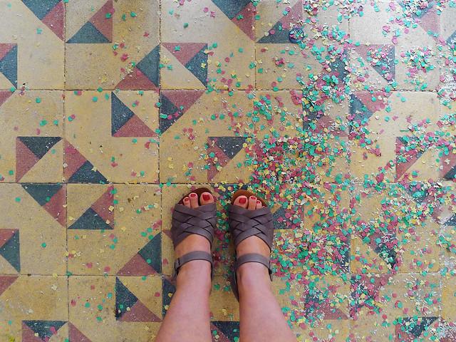 confetti mum