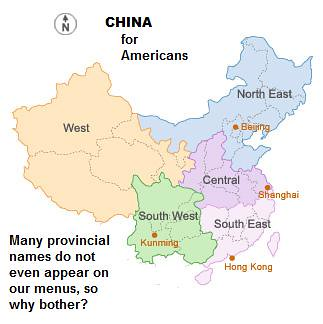 Chinese Geography for Americans
