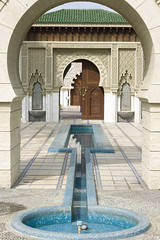 Entrance to Islamic Gardens (photopixel88) Tags: 50mm malaysia moorish putrajaya botanicalgarden islamicgarden