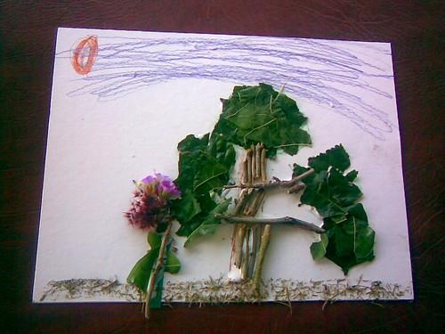 Zinnia's tree picture