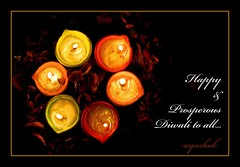 wishing you all a happy & prosperous diwali...