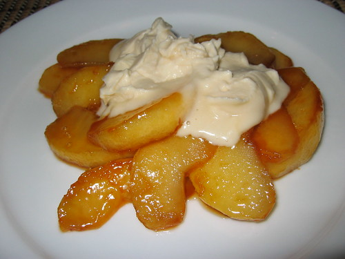 Caramelized Apple with Maple Mascarpone on Closet Cooking