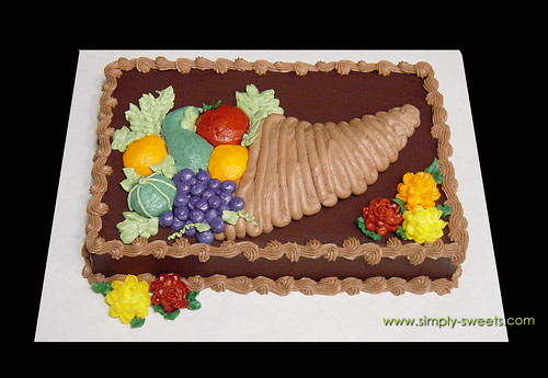 Cornucopia cake