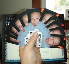 My LOLbiznes cards, let me show you them