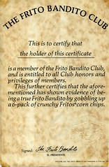 Frito Bandito Fan Club Kit