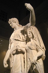 NYC - Metropolitan Museum of Art - Dionysos leaning on an archaistic female figure (wallyg) Tags: nyc newyorkcity sculpture ny newyork art statue museum greek nhl god roman manhattan landmark ues bacchus gothamist artmuseum metropolitanmuseum greekmythology themet uppereastside metropolitanmuseumofart dionysus museummile dionysos nationalhistoriclandmark nationalregisterofhistoricplaces usnationalhistoriclandmark nrhp augustan julioclaudian aia150 usnationalregisterofhistoricplaces newyorkcitylandmarkspreservationcommission nyclpc greekandromangalleries vincenzopacetti