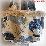 Tropical Island CLEARANCE<p>Small Knitting Tote or Purse