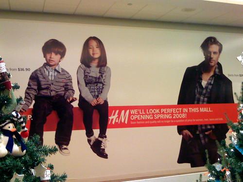 H&M pacific centre location