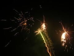 fireworks at night II (Salerosa) Tags: light party sky color night fun sylvester firework newyear celebration 2008 sylwester silvester artifice nyår feuerwerk newyearseve2007 nye07 artificuri