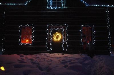 Light at Night - Upper Canada Village