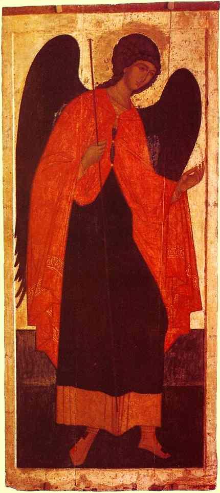 Icon, Russian Archamgel Michael, 1516
