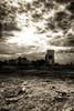 Sin City (Khaled A.K) Tags: bw skyline clouds landscape sand jeddah saudiarabia khaled sincity
