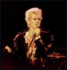 Billy Idol - 1984 (Winnipeg Arena) (William Shropshire) Tags: copyright canada color colour photography concert winnipeg shropshire pentax k1000 live © william arena photographs 1984 idol billy 2008