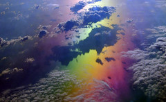 Multicolored (Leonid Yaitskiy) Tags: windows sea sky color reflection water clouds rainbow mediterranean view filter gradient meter boeing polarizer 10000 height cpl 737400          colorphotoaward