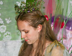 Faerie Princess (SemiCharmedLife ()) Tags: portrait people colors girl face wings colorful faerie whimsical hairornament 2007marylandfaeriefestival
