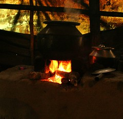 Steamin' Hot (sur!) Tags: kitchen fire nationalpark village kerala steam silentvalley