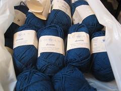 IMG_0289 (crafty knittin' kitten) Tags: rowandenim bardottop indigoknits