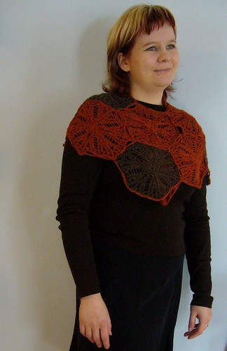 Medallion Shawl