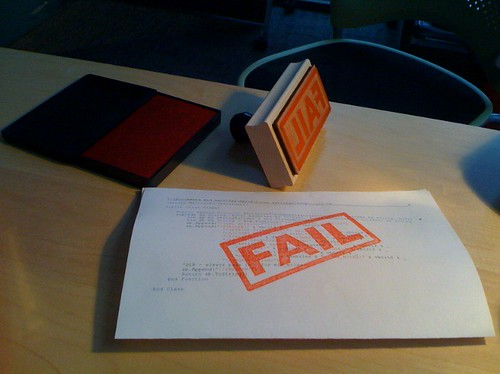FAIL stamp by hans.gerwitz, on Flickr