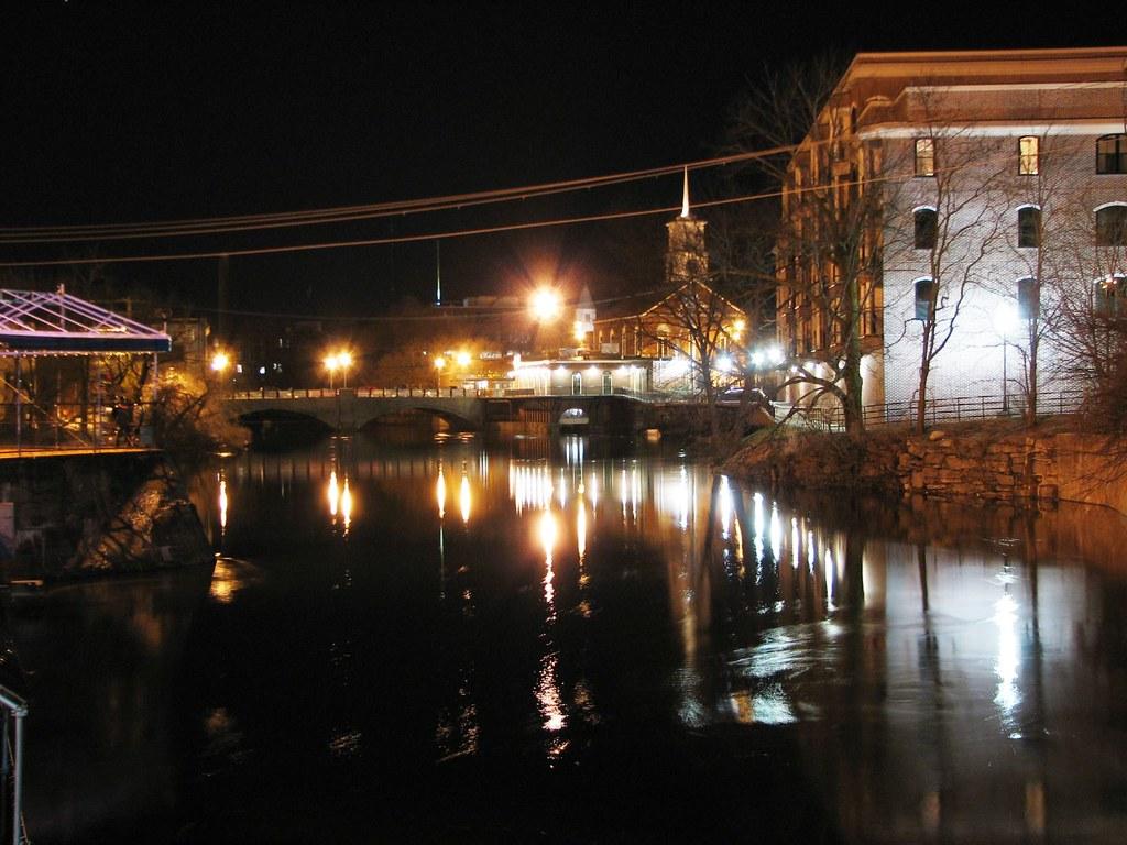 Nashua river at Main street