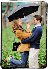 You Can Stand Under My Umbrella (Ryan Brenizer) Tags: newyorkcity wedding green love smile umbrella engagement nikon bokeh manhattan happiness midtown gothamist bryantpark d3 youcanttakepictureshere 85mmf14d missyandcharlie