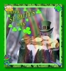 St. Patty's Day Cat (Gravityx9) Tags: holiday cat photoshop fluffy chop multicolored magical outofthisworld imagemanipulations specialeffects blogthis smorgasbord stpatty americaamerica creativephoto 031706 4paws psfo megashot ilovemypic coloursplosion clevercreativecaptures clevercreative psfofamily totalphotoshop showmeyourqualitypixels