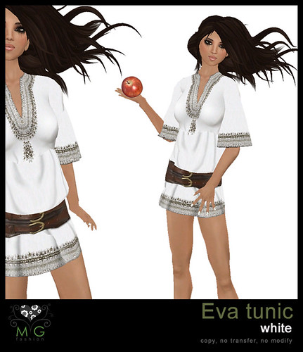 [MG fashion] Eva tunic (white)